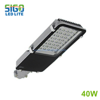 LED street light 40W wholosale project used for countryside road park garden