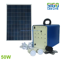 Solar home light system 50W for countryside