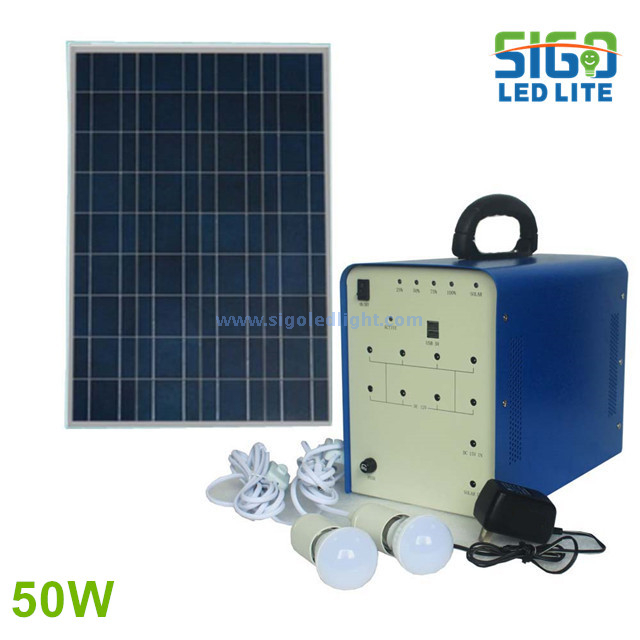 Solar home light system 50W