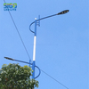 SIGOLED GSWL LED Street Light Project in countryside road