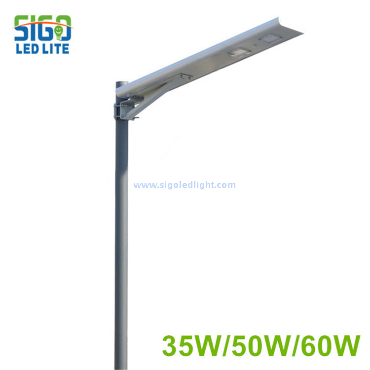 High quality Premier All in one solar street light 35W/50W/60W for main road project